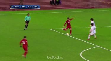 Mantan bintang Chelsea, Oscar mencatat dua gol indah saat Shanghai SIPG menahan imbang wakil Korea Selatan, Ulsan Hyundai di perta...