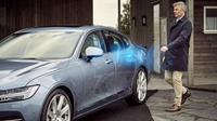 Mobil ciptaan Volvo akan memanfaatkan aplikasi pada smartphone.