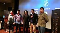 Pengumuman gelaran Mobile Legends League Season pertama di Jakarta, Selasa (9/1/2018). Liputan6.com/ Yuslianson