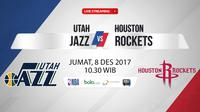 Utah Jazz Vs Houston Rockets (Bola.com/Adreanus Titus)