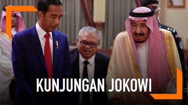 Presiden Joko Widodo melakukan kunjungan kenegaraan ke Arab Saudi. Hari Minggu (14/4) Jokowi bertemu dengan Raja Salman di Istana pribadi Raja Salman. Apa yang mereka bahas?