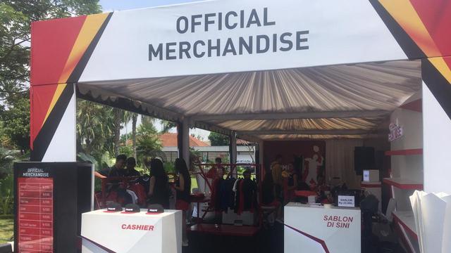 penjualan merchandise