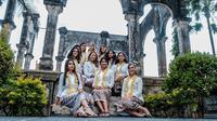 Reuni alumni Miss Universe 2015 di Bali. (dok. Biro Komunikasi Publik Kemenpar/Dinny Mutiah)