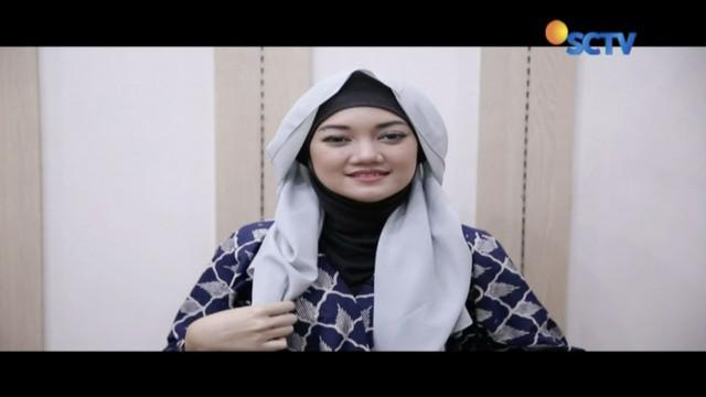 Tutorial hijab busana etnik.
