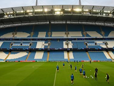 Hadapi Manchester City, Pemain Atalanta Semangat Berlatih di Etihad