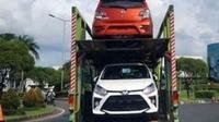 Spyshot Toyota Agya dan Daihatsu Ayla 2020 facelift (Instagram/indra_fathan/m.nawawi13)