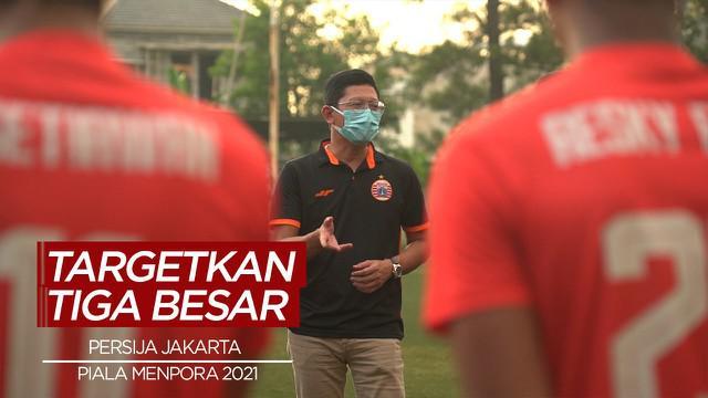 Berita Video Persija Jakarta Targetkan Tiga Besar di Piala Menpora 2021