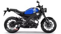 Yamaha XSR155 bergaya neo klasik. (Julaksendiedesign)