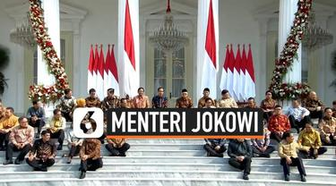 Presiden Joko Widodo atau Jokowi telah mengumumkan nama-nama menteri untuk duduk dalam Kabinet Indonesia Maju. Menteri pilihan Jokowi berasal dari berbagai kalangan.