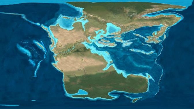 Ilustrasi benua (Wikipedia)