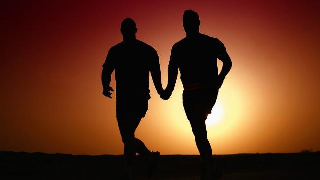 Ilustrasi hubungan homoseksual. (Sumber Pixabay/geralt)
