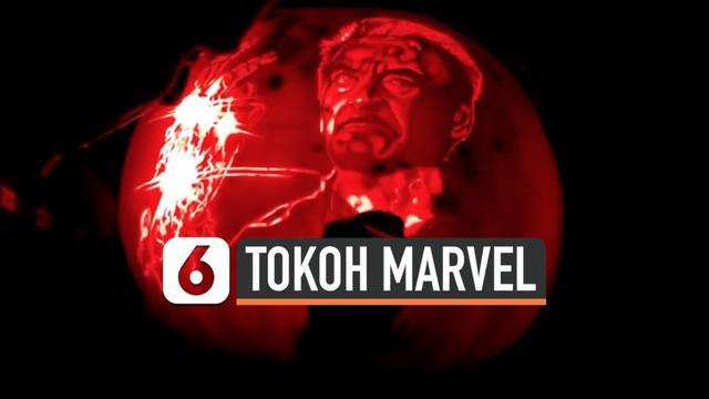 Dalam rangka Halloween, seorang seniman bernama Andy Manoloff mengukir wajah tokoh Marvel di labu. Proses pembuatannya membutuhkan waktu 8 hingga 20 jam.