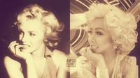 Soimah membagikan potret berpenampilan mirip Marlyn Monroe. Wargenet menyebut potret Soimah dan Monroe tersebut mirip (Dok.Instagram/@showimah/https://www.instagram.com/p/B5jo4nhgupl/Komarudin)