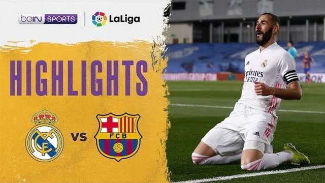 Berita video highlights pekan ke-30 Liga Spanyol 2020/2021 dalam laga bertajuk El Clasico antara Real Madrid melawan Barcelona yang berakhir dengan skor 2-1, Minggu (11/4/2021) dinihari WIB.