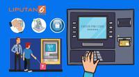Banner grafis skimming ATM (Liputan6.com/Abdillah)