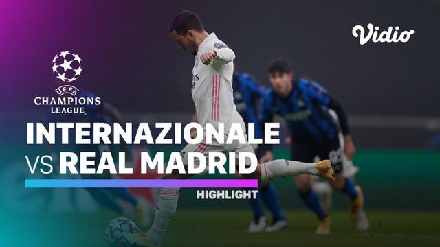 Berita video, Real Madrid menang melawan Inter Milan di fase grup Liga Champions 2020/2021