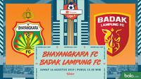 Bhayangkara FC Vs Badak Lampung FC (Bola.com/Adreanus Titus)
