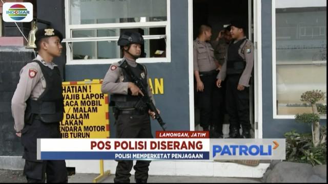 Seorang anggota polisi Polres Lamongan, Jakarta Timur, jadi korban penyerangan dua orang tak dikenal saat sedang tugas.