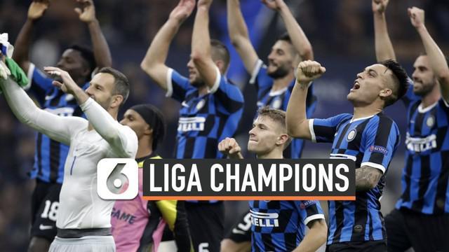 Inter Milan berhasil mengalahkan Borrusia Dortmund dengan skor 2-0 dalam laga Liga Champions. Siapa saja yang berhasil mencetak gol?