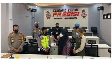 Sempat Berkata Kasar, Ibu yang Marah Diminta Putar Balik di Sukabumi Minta Maaf