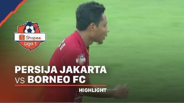 Berita video momen gol perdana Evan Dimas untuk Persija Jakarta tercipta pada pekan pertama Shopee Liga 1 2020 saat menghadapi Borneo FC di SUGBK, Senayan, Minggu (1/3/2020).