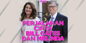 Perjalanan Cinta Bill Gates dan Melinda