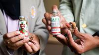 Sekelompok mahasiswa UGM menemukan formula dari ekstrak jahe merah yang bisa menyembuhkanpenyakit ginjal kronis (Liputan6.com/ Switzy Sabandar)