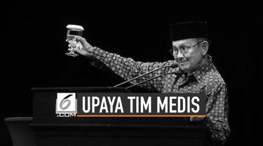 Presiden ke-3 Republik Indonesia Bacharuddin Jusuf Habibie meninggal dunia. Pada Rabu 11 September 2019 pukul 18.05 WIB di RSPAD Gatot Subroto.