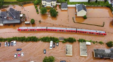Kondisi Jerman Usai Dilanda Banjir Parah