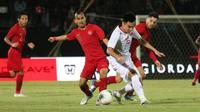 Timnas Indonesia Vs Vietnam di Stadion Kapten I Wayan Dipta, Gianyar, Selasa (15/10/2019). (Bola.com/Muhammad Adiyaksa).