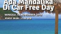 Car Free Day Pesona Mandalika Jakarta