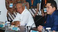 Menteri PUPR, Basuki Hadimuljono dan Ketua Inasgoc Erick Thohir.