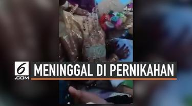 Pernikahan biasanya menjadi hari bahagia para pengantin. Namun di Makassar, hari pernikahan berubah menjadi duka. Sebab, pengantin wanita harus rela kehilangan ayahnya. Secara tiba-tiba, sang ayah  meninggal dunia tepat di hari pernikahannya.