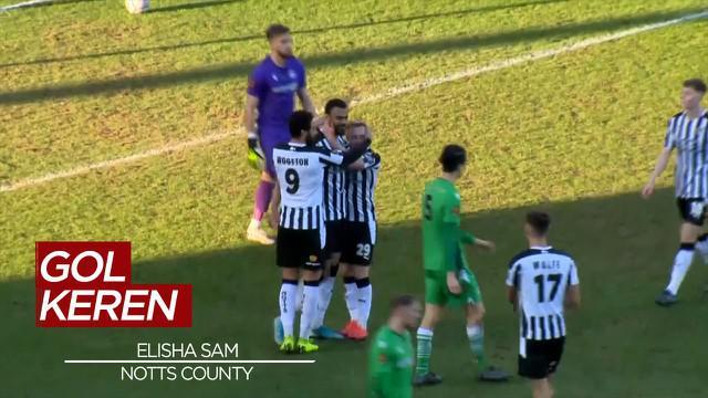 Berita Video Gol Spektakuler Elisha Sam di Kompetisi FA Trophy ini Mencuri Perhatian