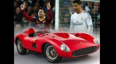 Messi Jadi Sosok yang Beli Ferrari Termahal?