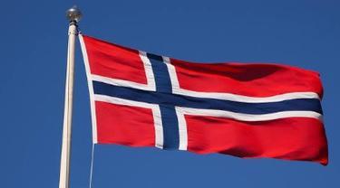 Bendera Norwegia.