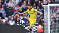 Namun ada minat baru dari Chelsea membuat Jorginho berpikir dua kali. ternyata penunjukan Maurizio Sarri sebagai pelatih Chelsea membuat Jorginho berpaling hati ke Stamford Bridge. (AFP/Ben Stansall)