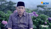 Quraish Shihab: Jika Kita Takut pada Allah, Maka Mendekatlah (Foto: SCTV)