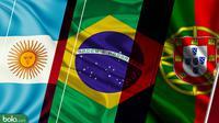 Trivia Negara Pelanggan Juara Piala Dunia U-20 (Bola.com/Adreanus Titus)