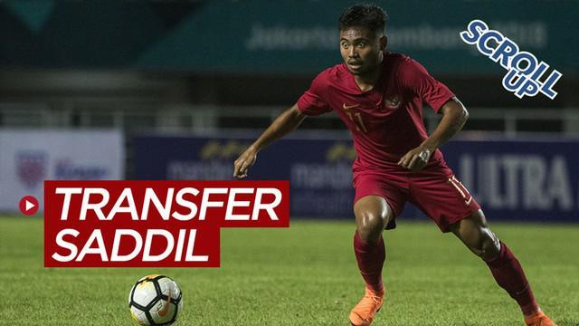 Berita video Scroll Up membahas transfer pemain Liga 1, Saddil Ramdani yang batal ke Eropa dan berlabuh di Bhayangkara FC.