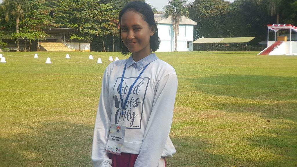 Audia Paramita Berharap Menjadi Paskibraka 2017 Buka Peluang Lebar untuk Dirinya Menjadi Polwan