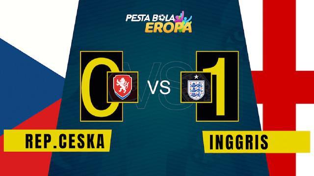 Berita video motion grafis, hasil pertandingan Timnas Inggris melawan Republik Ceska di Grup D Euro 2020, Rabu (23/6/2021).
