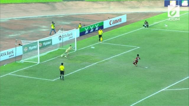 Berita video adu penalti antara Timnas Indonesia U-19 vs Thailand di Piala AFF U-18 2017 pada Jumat (15/9/2017).