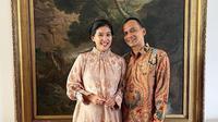 Potret pria yang diduga suami Olivia Zalianty, bergelar bangsawan sekaligus ketua yayasan. (Sumber: Instagram/oliviazallianty)