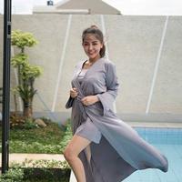 Bella Shofie ramai dibicarakan warganet. Mereka menyebut jika Bella Shofie sedang hamil (Instagram/@bellashofie5292)