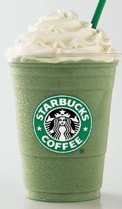 Green tea frappucino soya milk