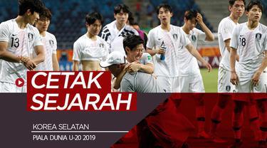 Berita video perjuangan Korea Selatan untuk mencetak sejarah di Piala Dunia U-20 dengan melangkah ke partai final.