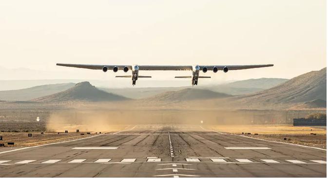 Stratolaunch, pesawat terbesar di dunia (Foto: Stratolaunch)