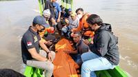 Penemuan mayat bocah tenggelam di Sungai Bulungan Kalimantan Utara.