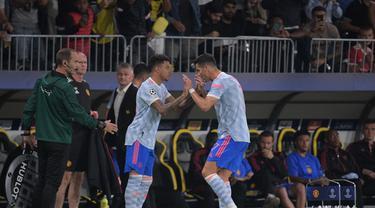 Jesse Lingard - Cristiano Ronaldo - Manchester United - MU - Liga Champions